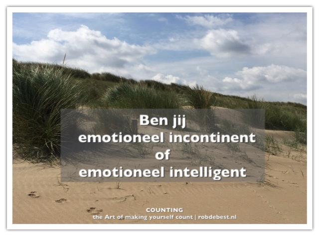 emotionele incontinentie